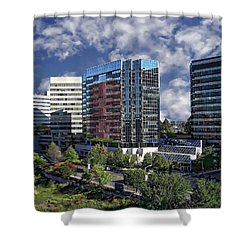 Stamford City Center Shower Curtain