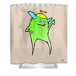 Stan Dupp Shower Curtain