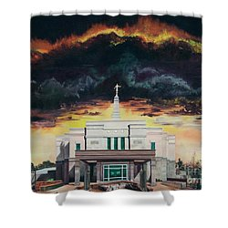 Stand In Holy Places Shower Curtain