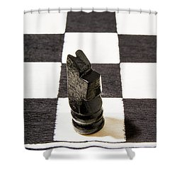 Stand Up For The Dark Horses Shower Curtain