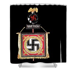 Standard Of The Leibstandarte Adolf Hitler Circa 1935  Shower Curtain