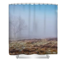 Shower Curtain featuring the photograph Standing Fiercely by Jeremy Lavender Photography