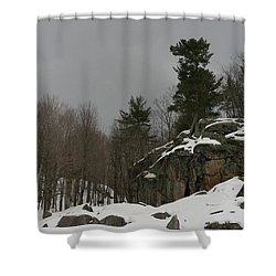 Standing Shower Curtain