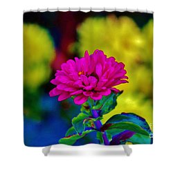 Shower Curtain featuring the photograph Standing Out In A Crowd by Craig Wood