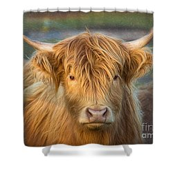 Standing Out In The Herd Shower Curtain