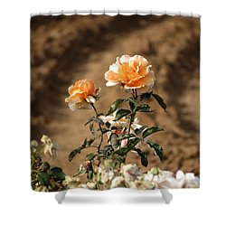 Standing Out Shower Curtain by Laurel Powell