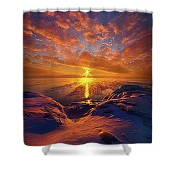 Shower Curtain featuring the photograph Standing Stilled by Phil Koch