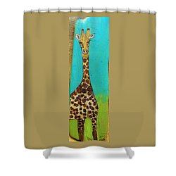 Standing Tall Shower Curtain by Ann Michelle Swadener