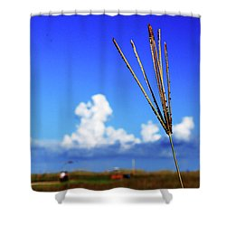 Shower Curtain featuring the photograph Standing Tall by Gary Wonning