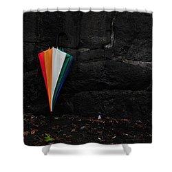 Standing Umbrella Shower Curtain