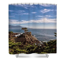 Standing Watch Shower Curtain by Gina Savage