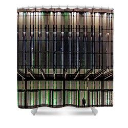 Standing Watch Shower Curtain