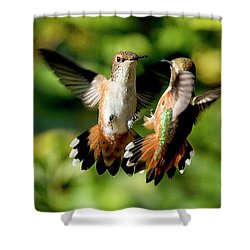 Standoff Shower Curtain
