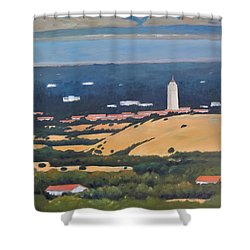 Stanford From Hills Shower Curtain