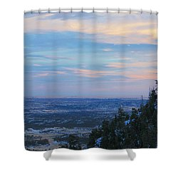 Stanley Canyon Hike Shower Curtain