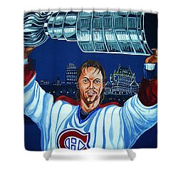 Stanley Cup - Champion Shower Curtain