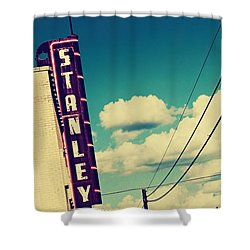 Shower Curtain featuring the photograph Stanley by Trish Mistric