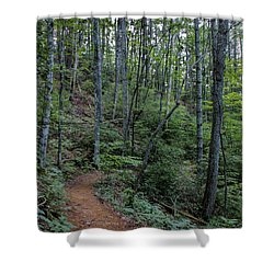 Stanly Gap Trail Shower Curtain