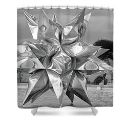 Star Shower Curtain by Beto Machado