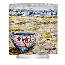 Star Boat Shower Curtain