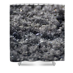 Star Crystal Shower Curtain