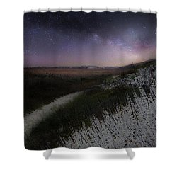Shower Curtain featuring the photograph Star Flowers by Bill Wakeley