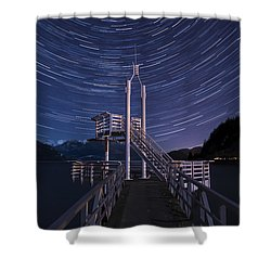 Star Movement Shower Curtain