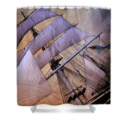 Star Of India San Diego 2 Shower Curtain