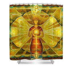 Star Of Venus Shower Curtain