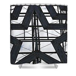 Star Power Roanoke Virginia Shower Curtain