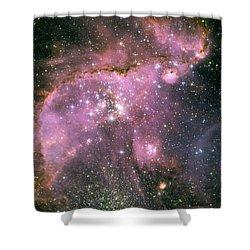 Star Shower Shower Curtain by Jennifer Rondinelli Reilly - Fine Art Photography