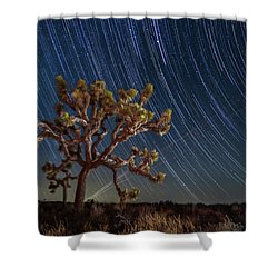 Star Spun Shower Curtain