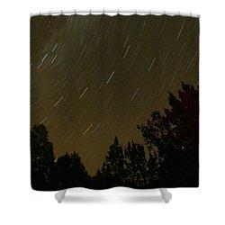 Star Tripping Shower Curtain by David S Reynolds