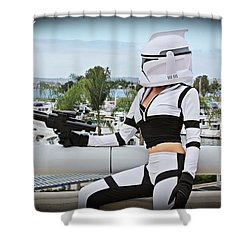 Star Wars By Knight 2000 Photography - Clone Wars Shower Curtain