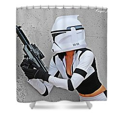 Star Wars By Knight 2000 Photography - Waiting Shower Curtain