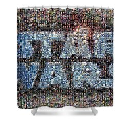 Star Wars Posters Mosaic Shower Curtain