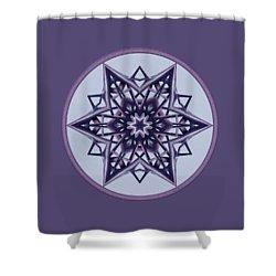 Star Window II Shower Curtain