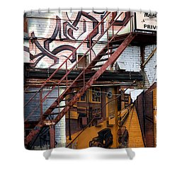 Stare Stair Shower Curtain