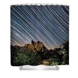 Starfall Shower Curtain