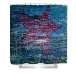 Starfish 3 Shower Curtain