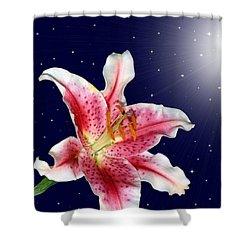 Stargazing Shower Curtain by Kristin Elmquist