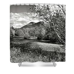 Stark, Nh Back Road  Shower Curtain