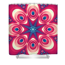 Starlight Chained Shower Curtain
