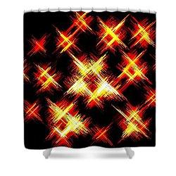 Starlight Shower Curtain by Will Borden