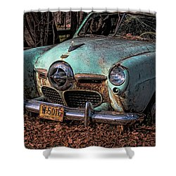 Starlite Coupe Shower Curtain