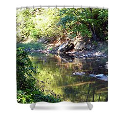Starr Creek Shower Curtain