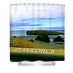 Starrchild Shower Curtain