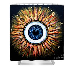 Starry Eye Shower Curtain