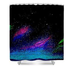 Starry Night 2 Shower Curtain