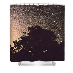 Stars Of La Vernia Shower Curtain by Carolina Liechtenstein